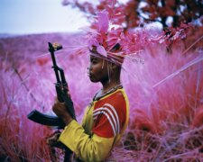 Richard Mosse, Safe From Harm, North Kivu, Eastern Congo, 2012. Foto: Jack Shainman Gallery.